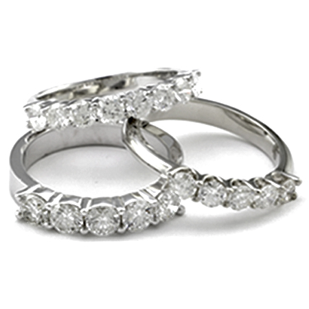 7 Beautiful and Unique Diamond Wedding Bands for Women | Timeless ...