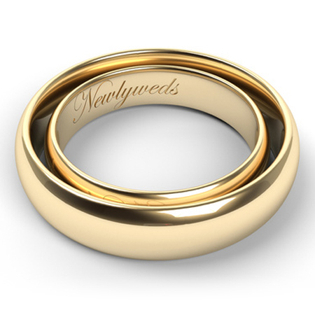 etched in gold ten ideas for engraving mens and womens wedding rings - Wedding Ring Engraving Ideas