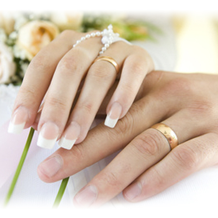Wear Wedding Rings On Left Hand Bands For Women