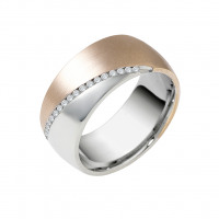 rio diamond wedding ring - Contemporary Wedding Rings