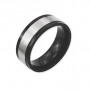 Midnight Eclipse Wedding Band
