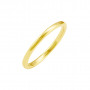2mm wide and 2mm thick Half Round Wedding Band | Timeless Wedding Bands
